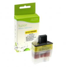 Compatible Brother LC41 Jaune Fuzion (HD)