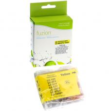 Compatible Brother LC51 Jaune Fuzion (HD)