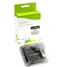 Compatible Brother LC101 LC103 XL Noir Fuzion (HD)